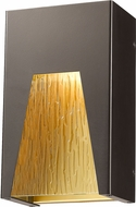Z-Lite 561S-DBZ-GD-CSL-LED Millenial Contemporary Bronze Gold LED Exterior Wall Lighting