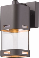 Z-Lite 562S-DBZ-LED Lestat Contemporary Deep Bronze LED Exterior Wall Light Sconce