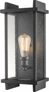 Z-Lite 565M-BK Fallow Contemporary Black Outdoor Wall Sconce Lighting