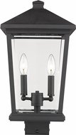 Z-Lite 568PHBS-BK Beacon Black Outdoor Post Mount