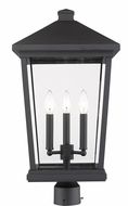 Z-Lite 568PHXLR-BK Beacon Black Outdoor Post Mount