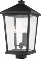 Z-Lite 568PHXLS-BK Beacon Black Outdoor Post Mount
