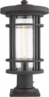 Z-Lite 570PHB-533PM-ORB Jordan Contemporary Oil Rubbed Bronze Outdoor Pier Mount
