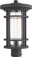 Z-Lite 570PHB-ORB Jordan Contemporary Oil Rubbed Bronze Outdoor Post Mount