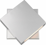 Z-Lite 573B-SL-LED Quadrate Contemporary Silver LED Outdoor 11 Wall Lamp