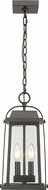 Z-Lite 574CHM-ORB Millworks Oil Rubbed Bronze Outdoor Pendant Lamp
