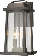 Z-Lite 574M-ORB Millworks Oil Rubbed Bronze Outdoor Lighting Sconce