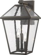 Z-Lite 579B-ORB Talbot Traditional Rubbed Bronze Outdoor Sconce Lighting