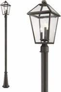 Z-Lite 579PHBR-519P-ORB Talbot Traditional Rubbed Bronze Outdoor Post Lamp