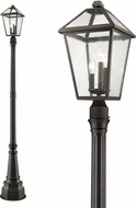 Z-Lite 579PHBR-564P-ORB Talbot Traditional Rubbed Bronze Outdoor Post Light