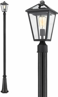 Z-Lite 579PHMR-519P-BK Talbot Traditional Black Exterior Post Lighting Fixture
