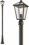 Z-Lite 579PHMR-519P-ORB Talbot Traditional Rubbed Bronze Outdoor Lamp Post Light Fixture