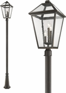 Z-Lite 579PHXLR-519P-ORB Talbot Traditional Rubbed Bronze Outdoor Post Light
