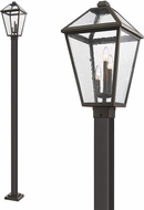 Z-Lite 579PHXLS-536P-ORB Talbot Traditional Rubbed Bronze Outdoor Lamp Post Light Fixture