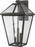 Z-Lite 579XL-ORB Talbot Traditional Rubbed Bronze Outdoor Lighting Wall Sconce