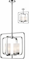 Z-Lite 6000SFC-CH Aideen Contemporary Chrome Pendant Lighting