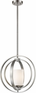 Z-Lite 6002MP-BN Ashling Modern Brushed Nickel Hanging Light