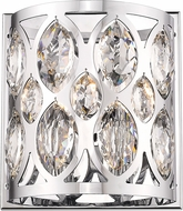 Z-Lite 6010-2S-CH Dealey Chrome Wall Lighting