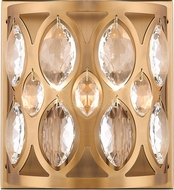Z-Lite 6010-2S-HB Dealey Heirloom Brass Sconce Lighting