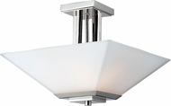 Z-Lite 602SF Affinia Modern Chrome Flush Mount Lighting