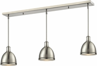 Z-Lite 710MP-3BN Mason Brushed Nickel Brushed Nickel Multi Hanging Light Fixture