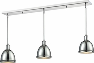 Z-Lite 711MP-3CH Mason Chrome Chrome Multi Drop Ceiling Lighting