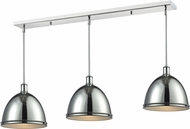 Z-Lite 711P13-3CH Mason Chrome Chrome Multi Ceiling Light Pendant