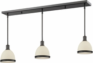 Z-Lite 712MP-3BRZ Mason Bronze Matte Opal Multi Ceiling Pendant Light