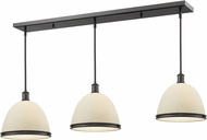 Z-Lite 712P13-3BRZ Mason Bronze Matte Opal Multi Drop Ceiling Light Fixture