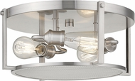 Z-Lite 723F15-BN Halycon Contemporary Brushed Nickel 16  Overhead Lighting