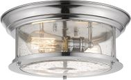 Z-Lite 727F13-CH Sonna Contemporary Chrome Overhead Light Fixture
