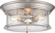 Z-Lite 727F16-BN Sonna Modern Brushed Nickel Ceiling Light