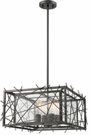 Z-Lite 8000-18BRZ Stanwood Contemporary Bronze 18  Ceiling Light Pendant