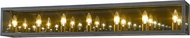 Z-Lite 802-7V-MC Infinity Modern Misty Charcoal 7-Light Bath Lighting Sconce