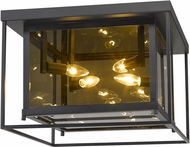 Z-Lite 802F16-MC Infinity Modern Misty Charcoal Flush Lighting