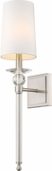 Z-Lite 804-1S-BN Ava Brushed Nickel Wall Lighting Sconce