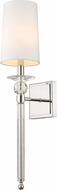 Z-Lite 804-1S-PN Ava Polished Nickel Wall Mounted Lamp