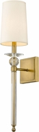 Z-Lite 804-1S-RB Ava Rubbed Brass Wall Light Sconce