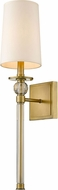 Z-Lite 805-1S-RB Mia Rubbed Brass 25  Wall Sconce