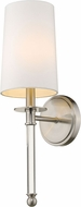 Z-Lite 808-1S-BN Mila Brushed Nickel Lighting Wall Sconce