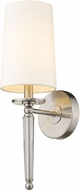 Z-Lite 810-1S-BN Avery Brushed Nickel 19  Wall Sconce