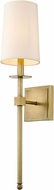 Z-Lite 811-1S-RB Camila Rubbed Brass Wall Sconce Lighting