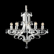 Z-Lite 849S Pearl Traditional Silver Mini Chandelier Light