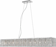 Z-Lite 872CH-56 Terra Chrome Halogen Island Lighting