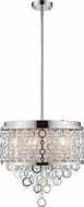 Z-Lite 9002P18-CH Bijou Contemporary Chrome 18  Drum Hanging Light