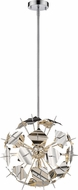 Z-Lite 9003P18-CH Branam Contemporary Chrome 18  Pendant Lighting Fixture