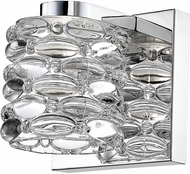 Z-Lite 907-1S-LED Dawson Contemporary Chrome LED Lamp Sconce