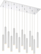 Z-Lite 917MP12-CH-LED-14LCH Forest Contemporary Chrome LED Multi Pendant Lighting