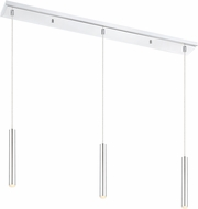 Z-Lite 917MP12-CH-LED-3LCH Forest Contemporary Chrome LED Multi Lighting Pendant