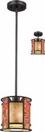 Z-Lite Z8-55MP-C Parkwood Contemporary Bronze Mini Pendant Light Fixture